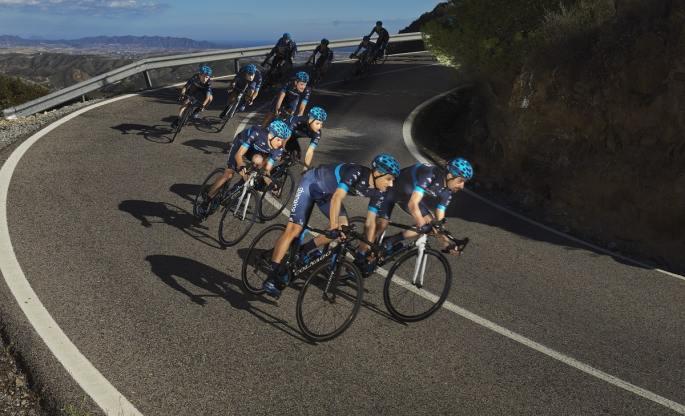 Ekipa kolesarjev s sladkorno boleznijo